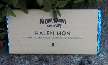Halen Môn -  Bar Siocled NomNom | NomNom Chocolate